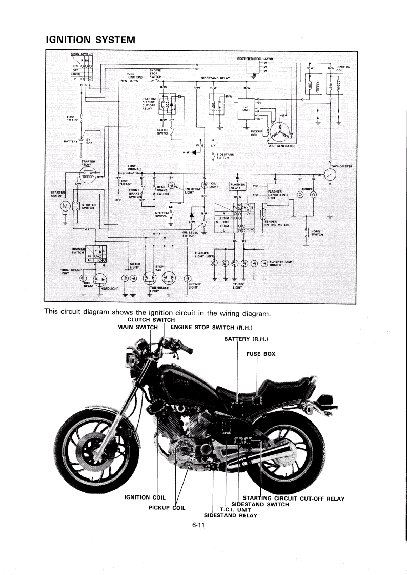 honda xr650l cdi wiring diagram honda xr650l maintenance