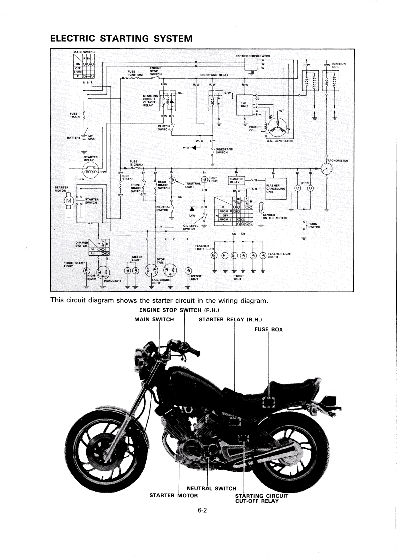 auto coil wiring diagram yamaha xv 500 bobber youtube xv1000 wiring diagram