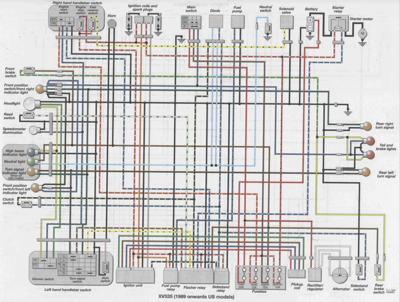 89_96_us_XV535 viragotechforum com \u2022 view topic xv535sh wiring virago wiring diagram at soozxer.org